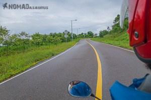 Riding Bokor Mountain