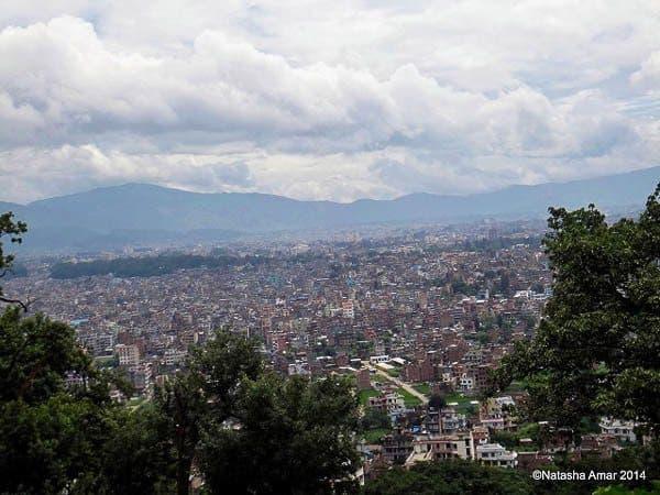 Kathmandu City View Swayambhunath