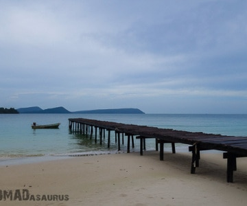 Koh Rong Pier