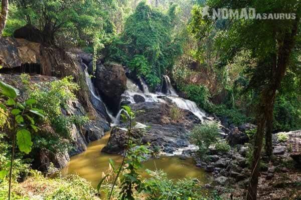 Waterfall Mae Hong Son Loop.