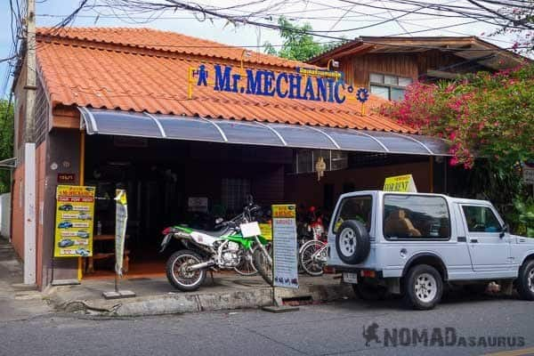 Mr Mechanic Scooter Rental Chiang Mai Mae Hong Son Loop