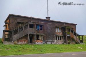 Old Building Bokor Mountain