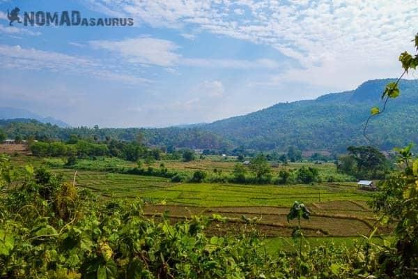 Countryside Views. Mae Hong Son Loop