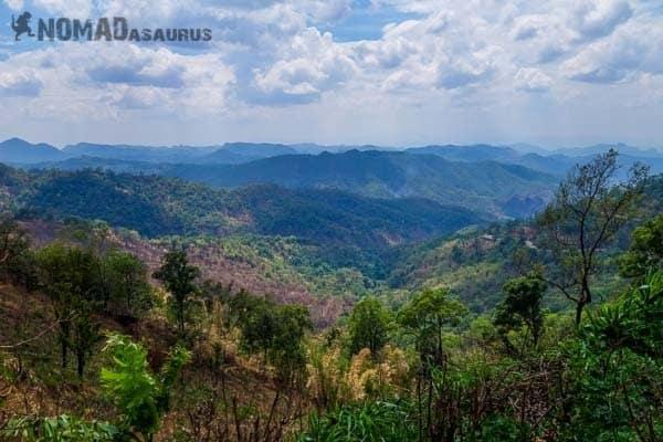 Northern Thailand Views. Mae Hong Son Loop