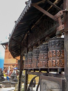 Prayer Wheels Swayambhunath