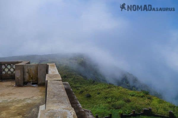 Rolling clouds Bokor Mountain