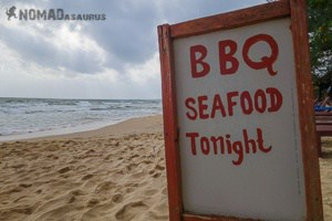 Otres Beach BBQ Seafood Tonight