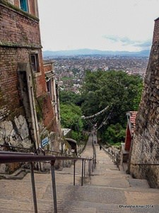 Eastern Stairay Swayambhunath