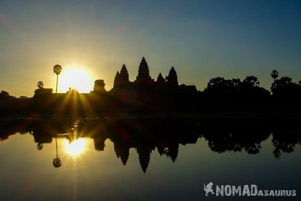 Backpackers Paradox Traveller vs Tourist Angkor Wat Sunrise