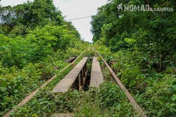 Bamboo Train Tracks Battambang