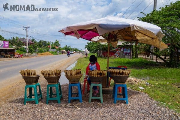 Cambodia Motorcycle Adventure Battambang To Siem Reap Bamboo Rice