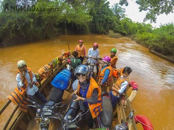 Vietnam Motorcycle Flooded Road Spontaneous Travel No Trip Itinerary No Plans