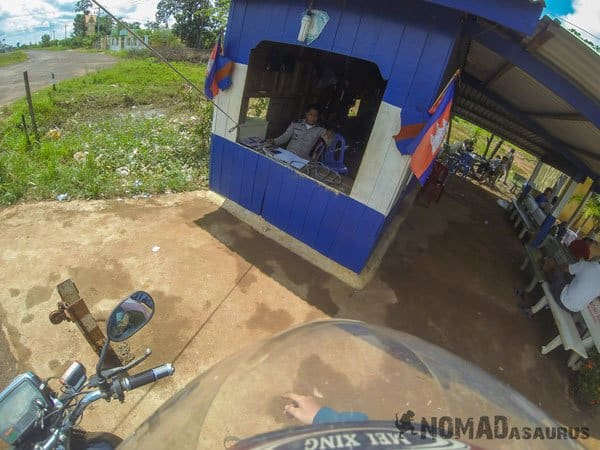 Snoul Crossing The Border With A Motorbike Laos Cambodia Vietnam Thailand Southeast Asia Experience