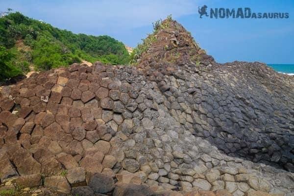 Ganh Da Dia Rock Formations