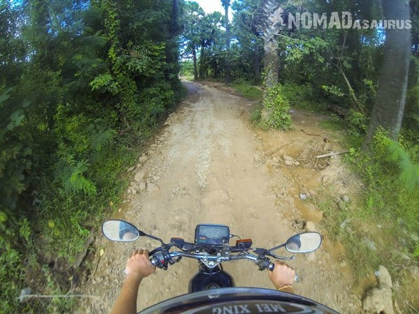 Cambodia Motorcycle Adventure Kampong Cham Phnom Penh Small Road