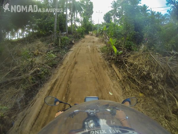 Cambodia Motorcycle Adventure Kampong Cham Phnom Penh Dirt Road