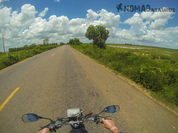 Cambodia Motorcycle Adventure Kampong Chhnang To Battamband