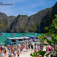 Backpackers Paradox Traveller Vs Tourist Maya Bay NOMADasaurus