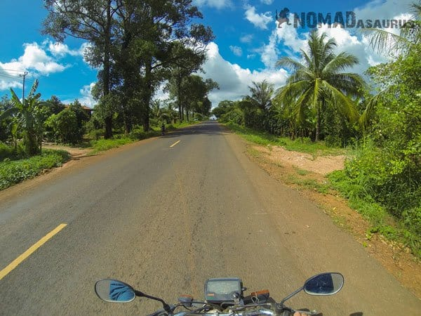 Cambodia Motorcycle Adventure Phnom Penh Snoul Nice Road