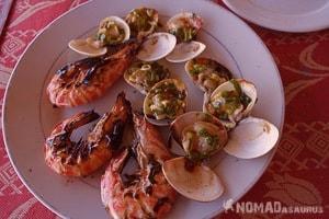Vespa Tour Hoi An Vietnam Prawn Dish