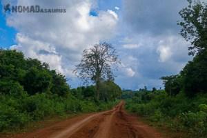 Spontaneous Travel No Trip Plans Dirt Road Vietnam