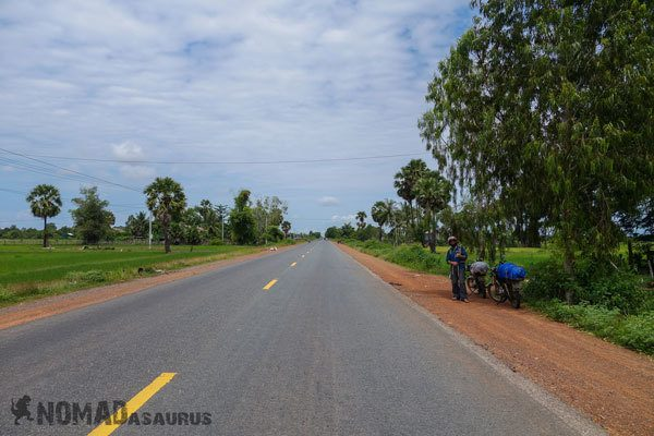 Cambodia Motorcycle Adventure Siem Reap To Kampog Thom Nice Road