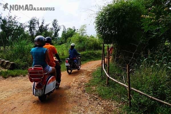 Vespa Tour Hoi An Vietnam Countryside Riding