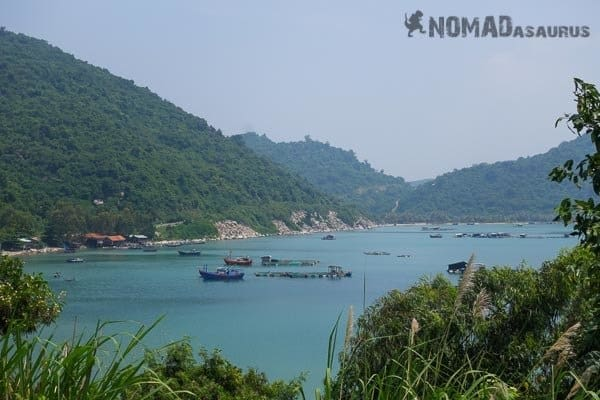 We Found This Little Bay On The South China Sea On A Small Road That Isn't On A Map.
