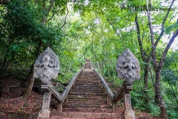 Wat Banan Staircase Battambang
