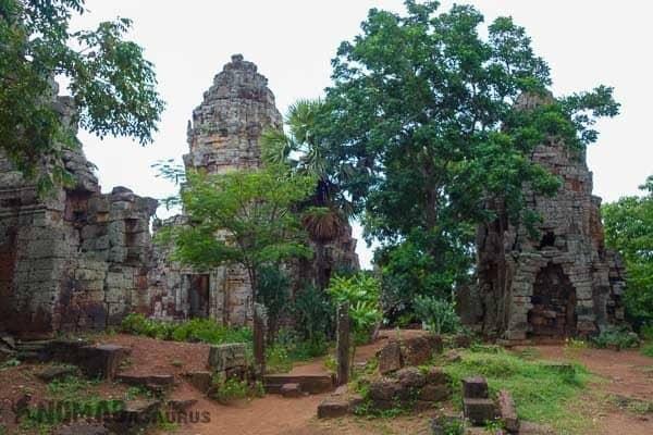 Wat Banan Towers Battambang