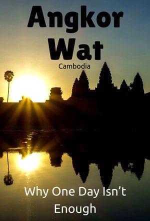 Visiting Angkor Wat, Siem Reap, Cambodia