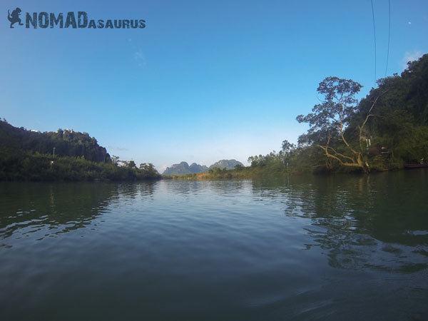 Phong Nha National Park Tour Kayak View