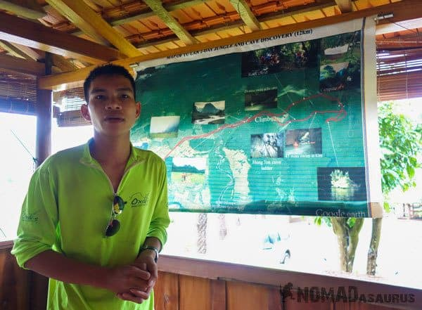 Tan Hoa Tu Lan Cave System Staff Guide Porter Chef Dzung
