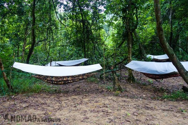 Hammock Camping Tu Lan Caves Oxalis Expedition
