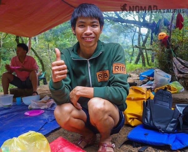 Tan Hoa Tu Lan Cave System Staff Guide Porter Chef Lin