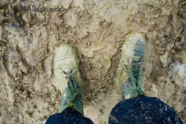Muddy Feet Tu Lan Caves Oxalis Expedition
