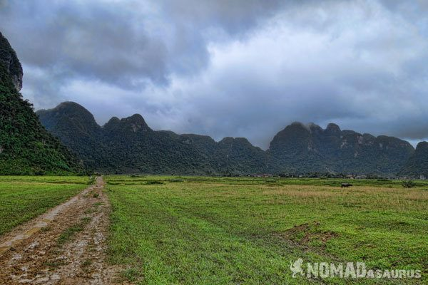 Tan Hoa Village View Tu Lan Caves Oxalis Expedition