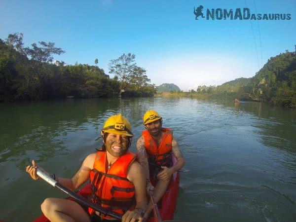 Phong Nha National Park Tour Kayaking