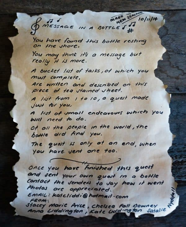 Page 1 Epic Quest Message In A Bottle Halong Bay Vietnam