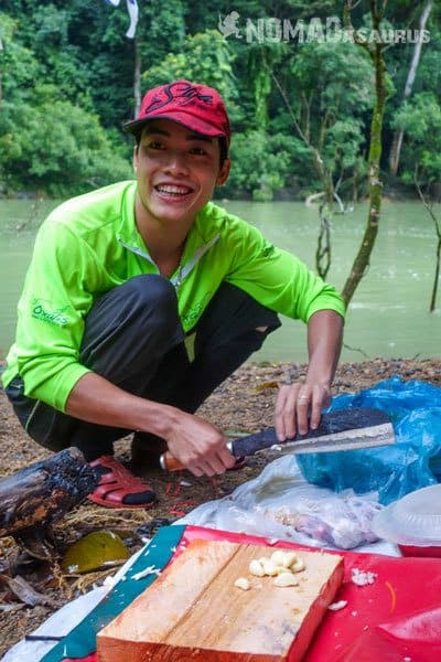 Tan Hoa Tu Lan Cave System Staff Guide Porter Chef Toan