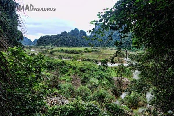 Farmland View Tu Lan Caves Oxalis Expedition