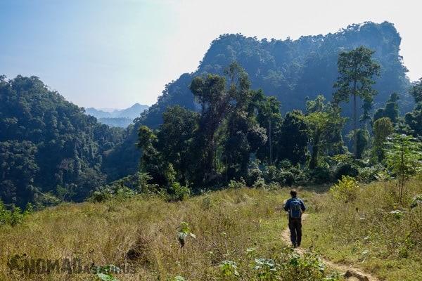 Jazza Trekking Ba Be National Park Lake Mr Linhs Homestay Trekking