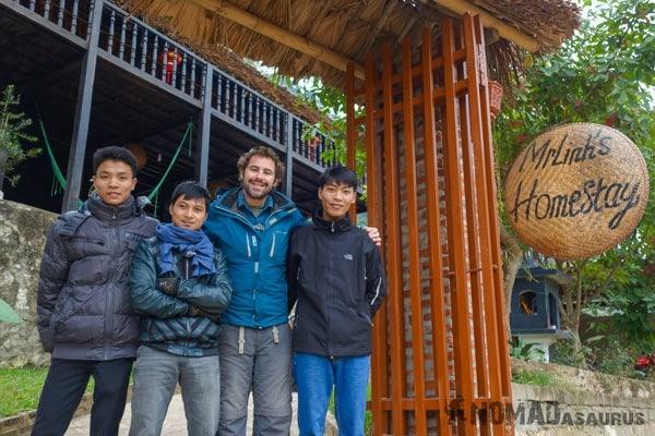 The Team Ba Be National Park Lake Mr Linhs Homestay Trekking