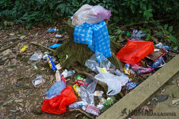 Cuc Phuong National Park Waste Litter Trash