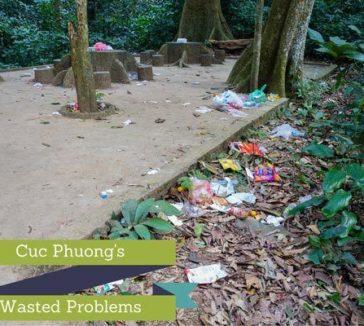 Cuc Phuong National Park Litter Waste Management Problems Trekking