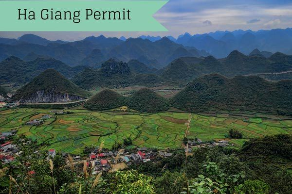 Getting Your Permit In Ha Giang For Northern Vietnam