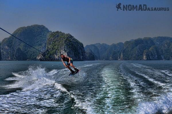 Jazza Wakeboarding Halong Bay Vietnam Image Wonder Of The World