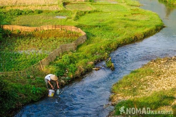 River Man Mai Chau Vietnam