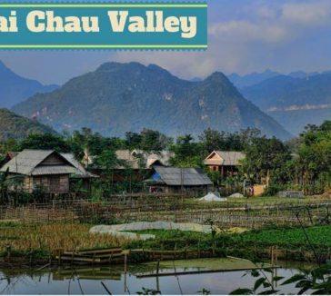 Mai Chau Valley Rural Retreat Vietnam Backpacker Hostels Tour Motorbike