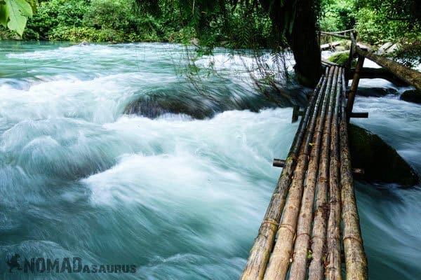 Bamboo Bridge Phong Nha Searching For Nirvana